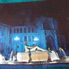 Postales: VALENCIA-PLAZA DE LA VIRGEN-70'. Lote 26290589