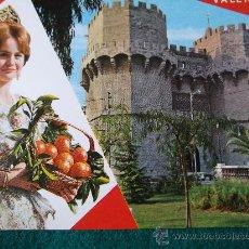 Postales: VALENCIA-BELLEZAS DE LA CIUDAD-70'. Lote 26290721