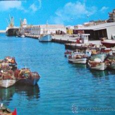 Postales: VALENCIA-GANDIA-70'-PUERTO-. Lote 26290848