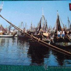 Postales: VALENCIA-70'-PUERTO,MUELLE DE PESCA-. Lote 26291069