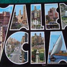 Postales: VALENCIA-BELLEZAS DE LA CIUDAD-70'. Lote 26291188