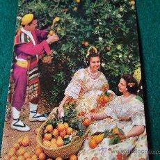 Postales: VALENCIA-70'-TIPISMO DE LA REGION-. Lote 26291345
