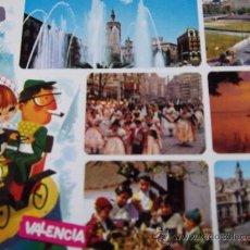 Postales: VALENCIA-BELLEZAS DE LA CIUDAD-70'-ESCRITA-NO CIRCULADA-. Lote 26291460