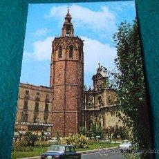 Postales: VALENCIA-PLAZA DE ZARAGOZA-EL MIGUELETE-70'. Lote 26291483