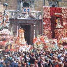 Postales: VALENCIA-70'-OFRENDA DE FLORES A LA VIRGEN-. Lote 26291516