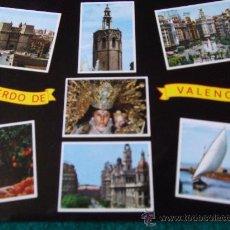Postales: VALENCIA-BELLEZAS DE LA CIUDAD-70'. Lote 26291584
