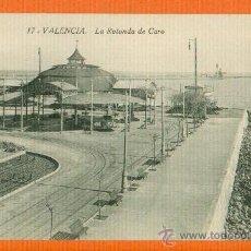 Postales: VALENCIA - LA ROTONDA DE CARO - FOTOTIPIA CASTAÑEIRA ALVAREZ Y LEVENFELD Nº 17 - SIN CIRCULAR. Lote 26353682