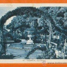 Postales: VALENCIA - LOS VIVEROS - FOTO L. ROISIN Nº 117 CIRCULADA CON SELLO REPUBLICA. Lote 26353801