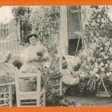 Postales: FLORISTAS EN LA HUERTA - VALENCIA - ED. THOMAS. Lote 26700710