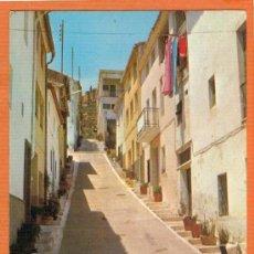 Postales: JALANCE - VALENCIA - CALLE DE LAS ANGUSTIAS - Nº 6 ED. EDERLINDA MAÑEZ - MUY RARA. Lote 26700964