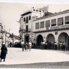 Postales: JERICA (CASTELLÓN).- PLAZA DE GERMÁN MONLEÓN. Lote 26996240