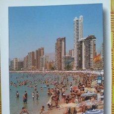 Postales: POSTAL BENIDORM Nº 85 - PLAYA DE LEVANTE - SIN CIRCULAR. Lote 27075317