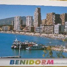 Postales: POSTAL BENIDORM Nº 132 - PLAYA DE PONIENTE - SIN CIRCULAR. Lote 27075657