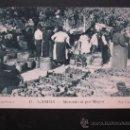 Postales: GANDIA, VALENCIA - MERCADO AL POR MAYOR. Lote 27171132