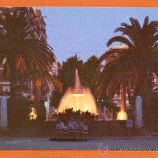 Postales: GANDIA - VALENCIA - PLAZA CRISTO REY NOCTURNA - Nº 44 DISTRIBUIDOR GUALFIMA - GANDIA. Lote 27371207