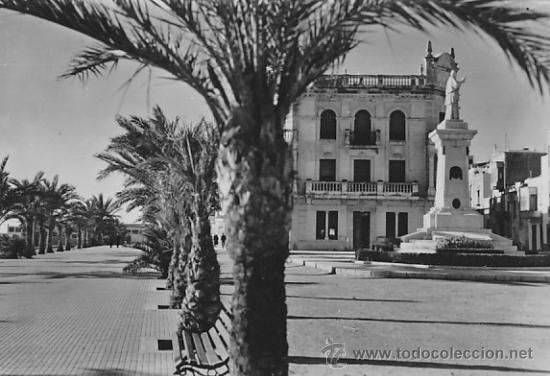 POSTAL VINAROZ PASEO DEL GENERALISIMO (Postales - España - Comunidad Valenciana Moderna (desde 1940))