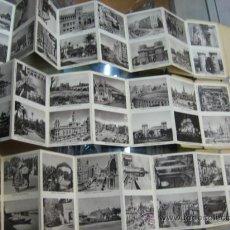 Postales: TRES LIBROS DE POSTALES DE VALENCIA HUECOGRABADO JDP CON 8 POSTALES Y 16 VISTAS CADA UNO. Lote 27539080