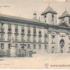 Postales: VALENCIA.PLAZA DEL TEMPLE.NO CIRCULADA 1005 HAUSER Y MENET.. Lote 27577623