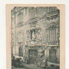 Postales: PUERTA DEL PALACIO 'DOS AGUAS'. FERIA DE VALENCIA, JULIO DE 1902. (FOT. V. BARBERA MASIP, Nº 26). Lote 27711291
