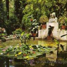 Postales: ELCHE ( ALICANTE )- HUERTO DEL CURA. EL TOCADOR DE LA DAMA DE ELCHE. Lote 27673956