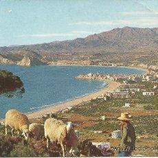 Postales: ALICANTE BENIDORM POSTAL ANTIGUA DE 1963. Lote 27674566