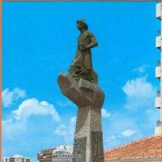 Postales: TORREVIEJA - ALICANTE - MONUMENTO AL PESCADOR - Nº 422 COMERCIAL VIPA. Lote 27736451