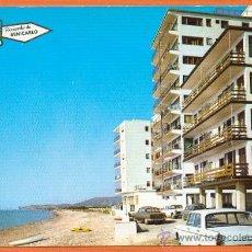 Postales: BENICARLO - CASTELLON - ZONA RESIDENCIAL AL FONDO PEÑISCOLA - ED. PERGAMINO. Lote 27737669