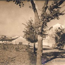 Postales: ENGUERA (VALENCIA).- VISTA DESDE EL COMIENZO DE LA CARRETERA NUEVA-FOTO J. BARBERÁN. Lote 27743707