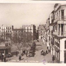 Postales: ALCIRA (VALENCIA).- PLAZA DE CASTELAR. Lote 27743889