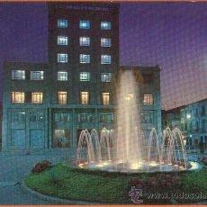 Postales: VILLARREAL DE LOS INFANTES - CASTELLON - PLAZA DEL GENERALISIMO FUENTE LUMINOSA - Nº 10 COMAS ALDEA. Lote 27758765