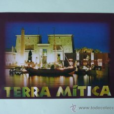 Postales: POSTAL TERRA MITICA - EGIPTO -. Lote 27812554