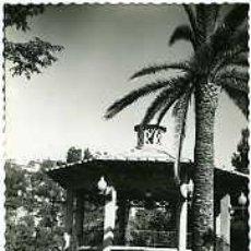 Postales: ALCOY (ALICANTE).- PARQUE PRIMO DE RIVERA. TEMPLETE.- EDICIONES DARVI Nº 10. FOTOGRÁFICA. . Lote 77851279