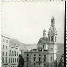 Postales: ALCOY (ALICANTE).- PLAZA DE ESPAÑA Y PARROQUIA DE SANTA MARÍA.- EDICIONES DARVI Nº 7. FOTOGRÁFICA. . Lote 77851307
