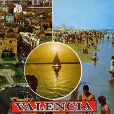 Postales: VALENCIA Nº 1393 DIVERSOS ASPECTOS SUBIRATS CASANOVAS ESCRITA CIRCULADA SELLO. Lote 27849640