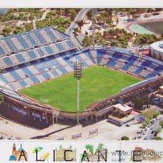 Postales: POSTAL CAMPO DE FUTBOL RICO PÉREZ, HÉRCULES CF ALICANTE. Lote 27998513