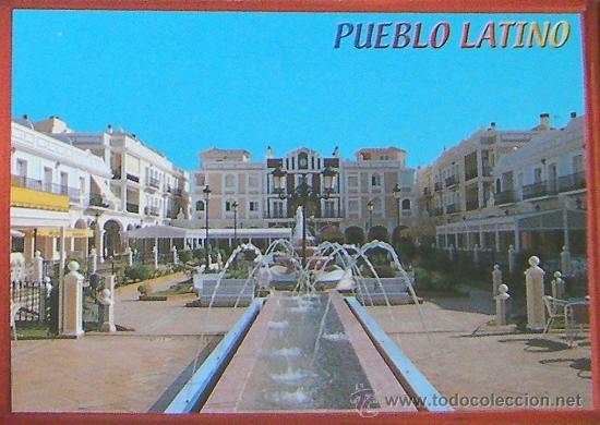 ALICANTE- PUEBLO LATINO - PILAR DE LA HORADADA - POSTAL (Postales - España - Comunidad Valenciana Moderna (desde 1940))