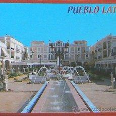 Postales: ALICANTE- PUEBLO LATINO - PILAR DE LA HORADADA - POSTAL. Lote 28157545