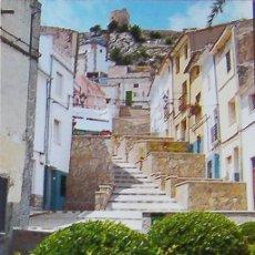 Postales: CASTALLA (ALICANTE) POSTAL CARRER DE LES TRONETES. Lote 28242901