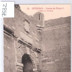Postales: PEÑISCOLA - 23 - PUERTA DE FELIPE II - ROISIN - (7532). Lote 28272757
