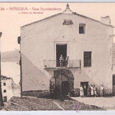 Postales: PEÑISCOLA - 24 - CASA AYUNTAMIENTO - ROISIN - (7534). Lote 28272823