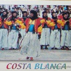 Postales: ALICANTE- COSTA BLANCA- MOROS Y CRISTIANOS. Lote 28287615