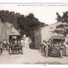 Postales: VALENCIA - MONASTERIO DE PORTA COELI - 7 - SALIDA DE LOS AUTOMOVILES - FOGRAFICA - (7837). Lote 28351806