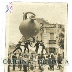 Postales: (PS-23855)POSTAL FOTOGRAFICA DE ALICANTE-FOGUERES DE SAN CHUAN 1930. Lote 28449230