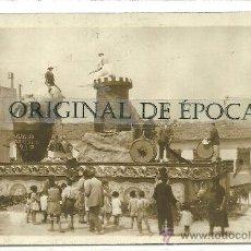 Postales: (PS-23853)POSTAL FOTOGRAFICA DE ALICANTE-FOGUERES DE SAN CHUAN 1930. Lote 28449249