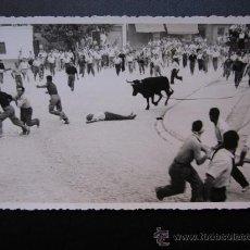 Postales: CHIVA - POSTAL FOTOGRAFICA - EL TORICO DE LA CUERDICA. Lote 28647866