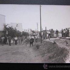 Postales: CHIVA - POSTAL FOTOGRAFICA - EL TORICO DE LA CUERDICA. Lote 28648224