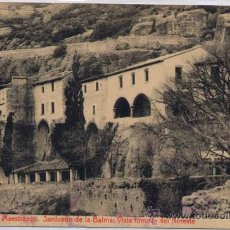Postales: ZORITA DEL MAESTRAZGO (CASTELLÓN).- SANTUARIO DE LA BALMA. VISTA TOMADA DEL NORESTE. Lote 28671860