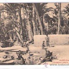 Postales: ELCHE - CANDALICIOS - ACEQUIA DE LOS MOLINOS - (8065). Lote 28848696