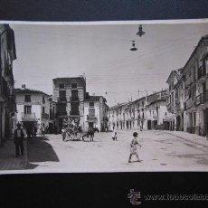 Postales: UTIEL - POSTAL FOTOGRAFICA - PLAZA DE LA LIBERTAD. Lote 28874147