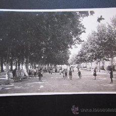 Postales: UTIEL - POSTAL FOTOGRAFICA - PASEO DE LAS DELICIAS. Lote 28874216